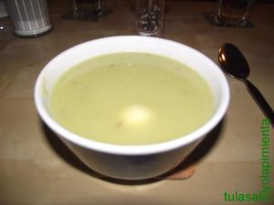 Sopa de lechuga